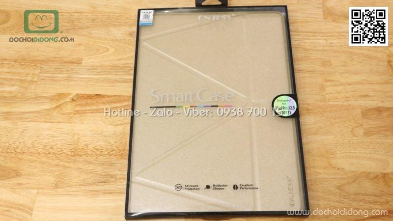 Bao da iPad Pro 12.9 2017 Onjess lưng dẻo êm ái