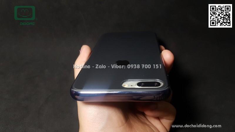 Ốp lưng iPhone 7 8 Plus lưng giả kính cao cấp