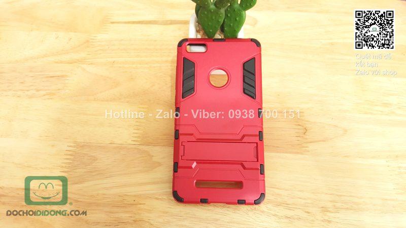 Ốp lưng Xiaomi Mi 4C Iron Man chống sốc có chống lưng
