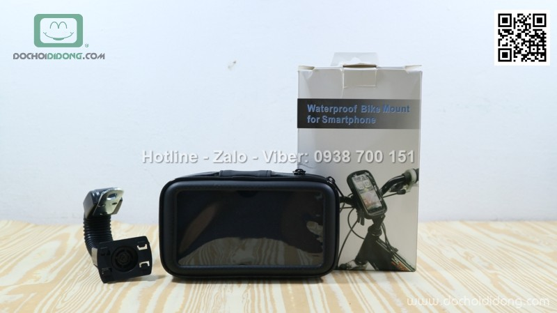 Giá đỡ điện thoại chống nước dành cho xe đạp xe máy