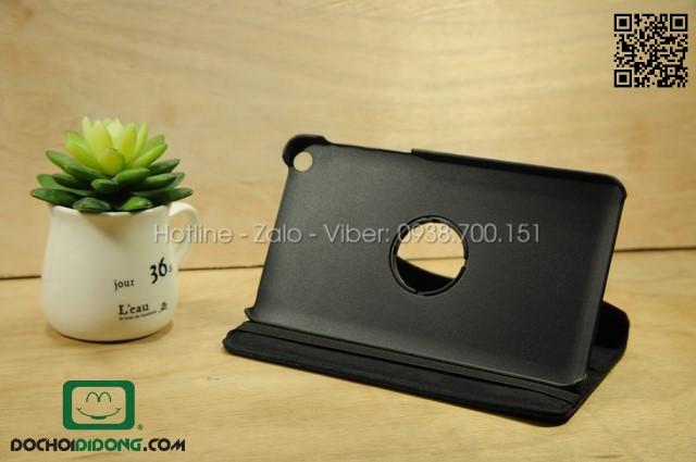 Bao da ASUS Fonepad 7 FE171 xoay 360 độ da sần