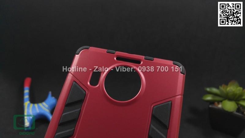 Ốp lưng Microsoft Lumia 950XL Iron Man ch��ng sốc có chống lưng