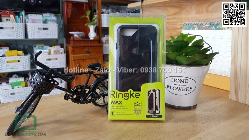 Ốp lưng iPhone 7 Plus Ringke Max chống sốc cao cấp