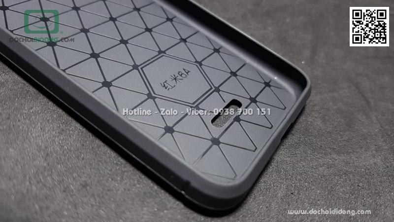 Ốp lưng Xiaomi Redmi 6A chống sốc vân kim loại