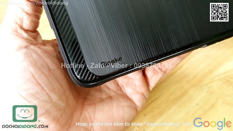 Ốp lưng iPhone 8 Ringke vân kim loại