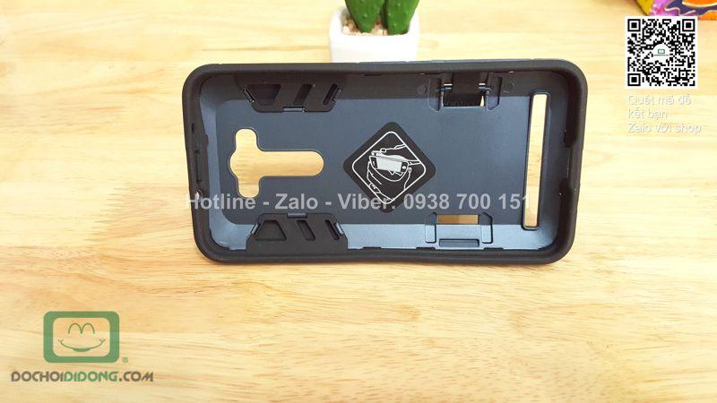 Ốp lưng Asus Zenfone 2 Laser ZE550KL Iron Man chống sốc có chống lưng