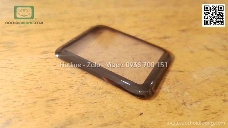Miếng dán cường lực đồng hồ Apple Watch 42mm full màn hình