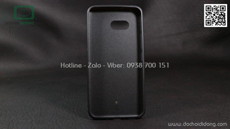 Ốp lưng HTC U11 dẻo vân vải bố