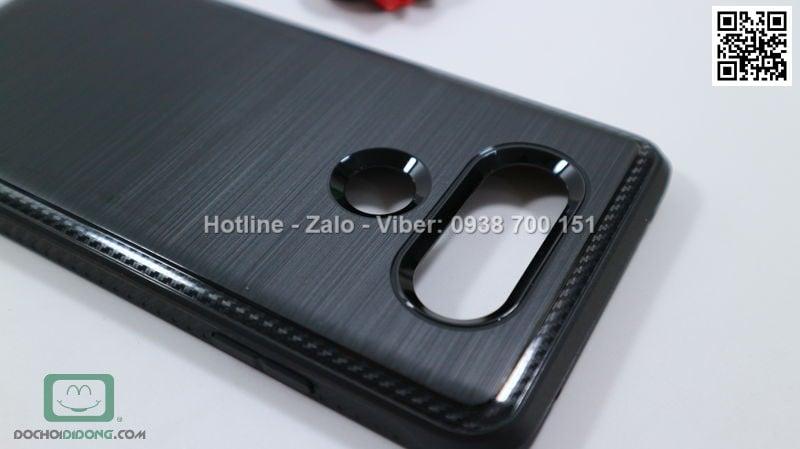 Ốp lưng LG V20 Ringke Onyx vân kim loại