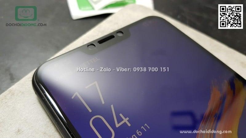 Miếng dán cường lực Lenovo Z5 full màn hình Zacase full keo