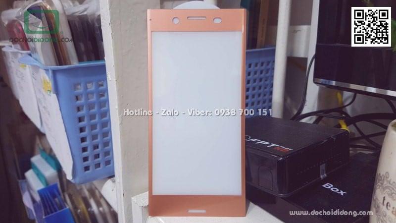 Miếng dán cường lực full màn hình Sony XZ Premium Zacase full keo