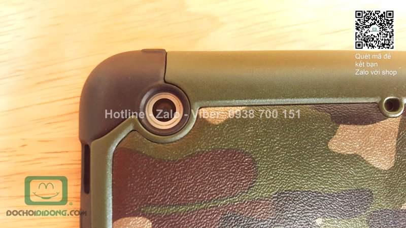 Ốp lưng Ipad Mini 1 2 3 quân đội chống sốc