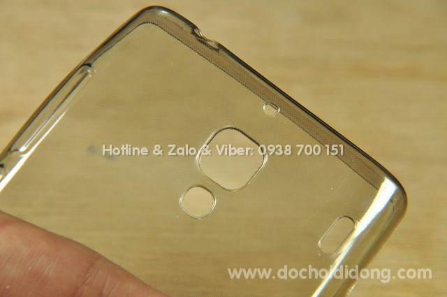 Ốp lưng Xiaomi Redmi 1SW dẻo trong siêu mỏng