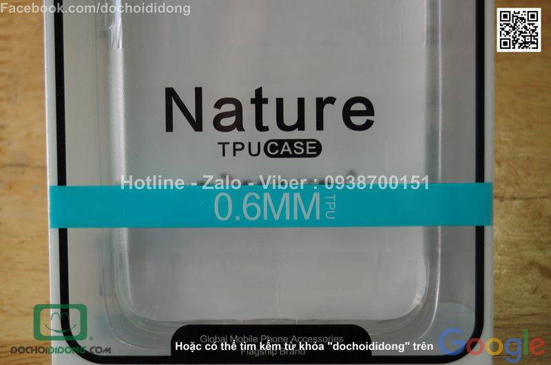 Ốp lưng HTC 10 Lifestyle Nillkin dẻo trong siêu mỏng