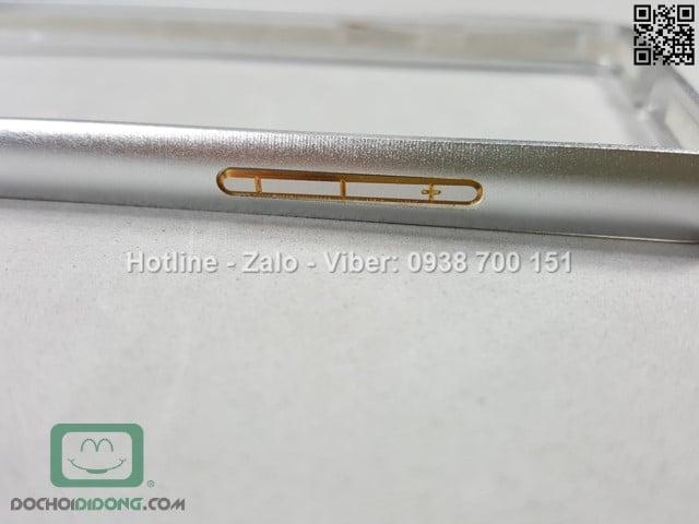 Ốp viền Oppo Neo 5 nhôm phay chốt gài
