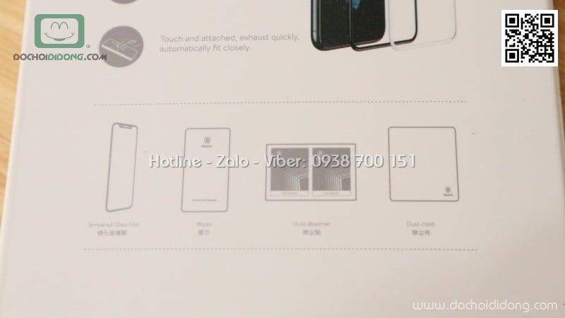 Miếng dán cường lực iPhone 8 Baseus full màn hình