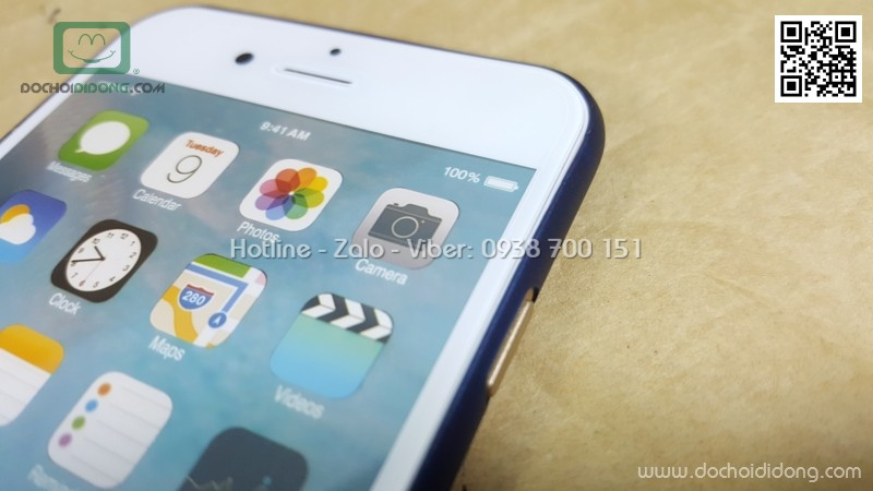 Ốp lưng iPhone 6 6s Memumi siêu mỏng 0.3mm