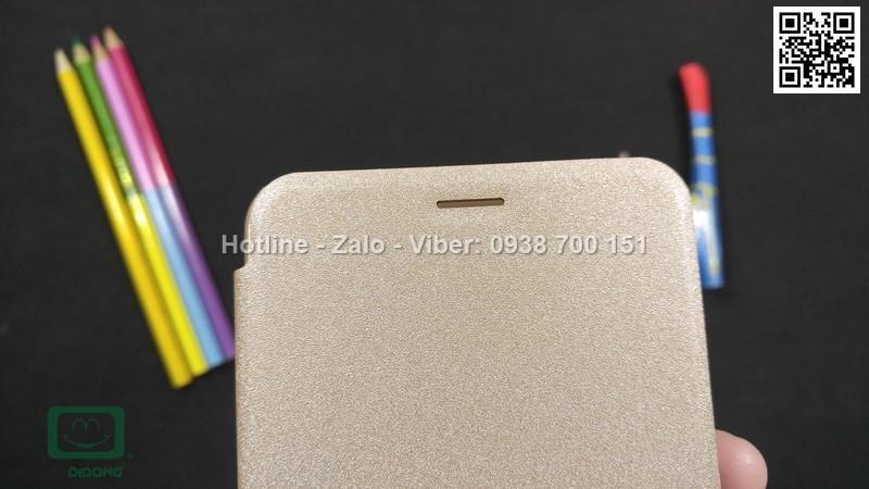 Bao da Asus Zenfone 3 Max ZC553KL Nillkin vân sần