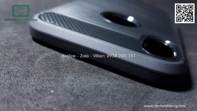 Ốp lưng iPhone XR Likgus chống sốc vân kim loại