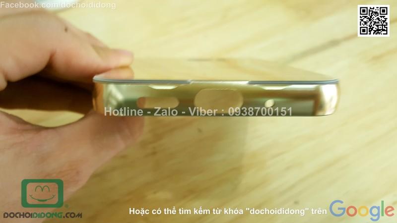 Ốp lưng HTC 10 Lifestyle viền nhôm lưng tráng gương
