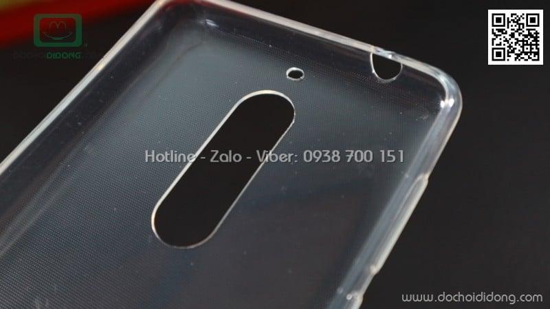 Ốp lưng Nokia 5 iSmile dẻo trong siêu mỏng