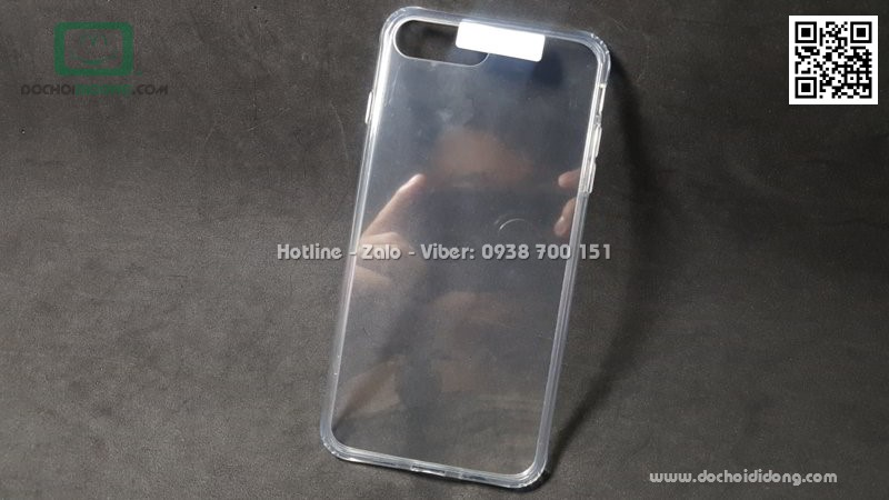 Ốp lưng iPhone 7 8 Plus Likgus lưng kính viền trong chống sốc