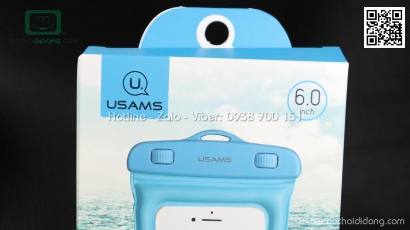 Túi chống nước Usams cho điện thoại 6 inch