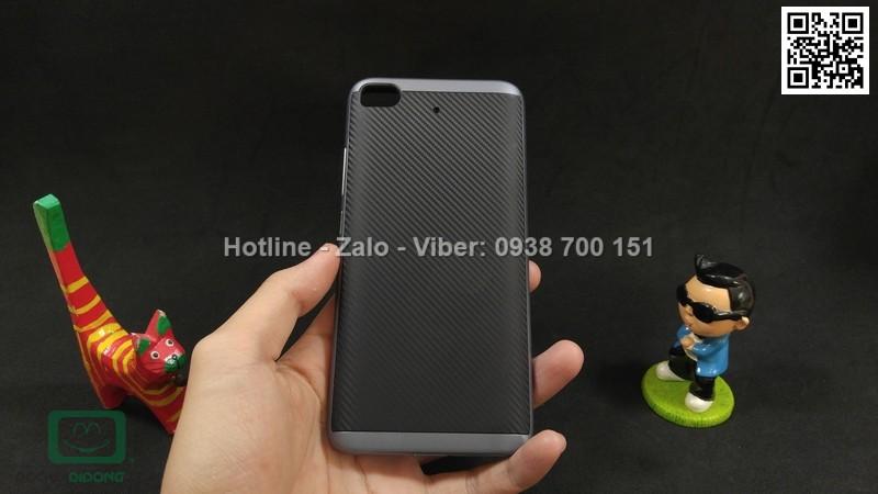 Ốp lưng Xiaomi Mi5s Likgus chống sốc vân carbon
