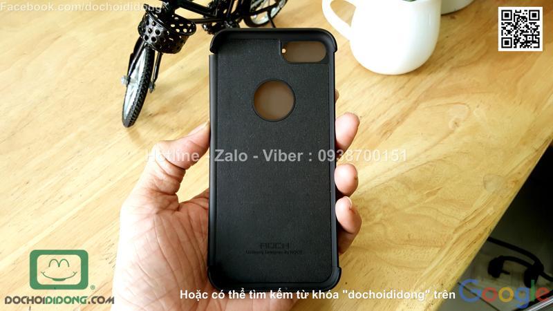 Bao da iPhone 8 Rock
