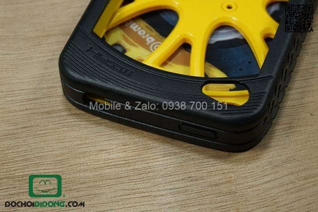 Ốp lưng iPhone 4 4S Miak Wheel Series