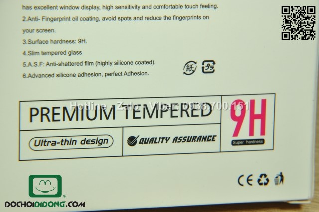 Miếng dán cường lực Sony Xperia Z4 Mercury 9H