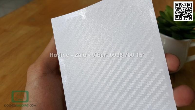 Miếng dán mặt sau Xiaomi Redmi Note 3 Carbon