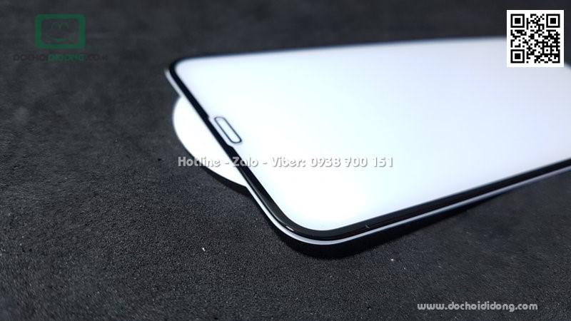Miếng dán cường lực iPhone X XS MIPOW KING BULL 3D full màn hình