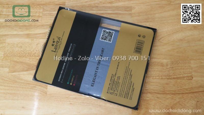 Bao da Samsung Tab S3 9.7 Inch Lishen vân nhám lưng dẻo