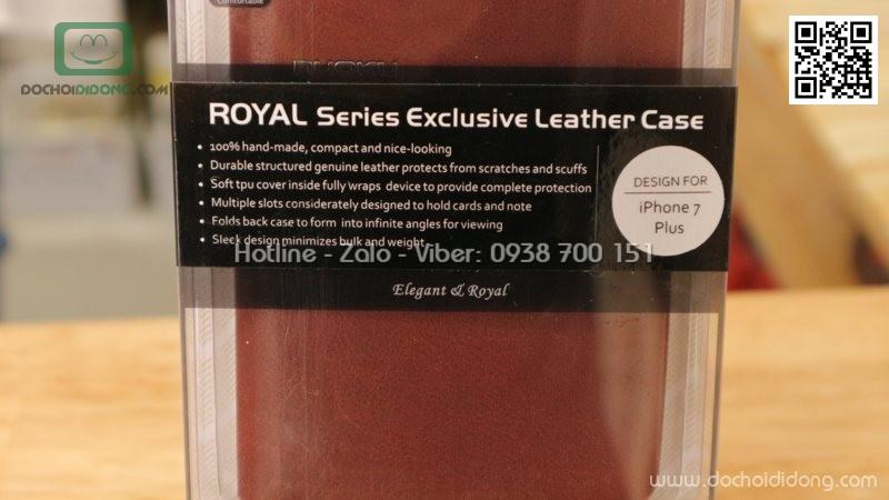 Bao da iPhone 7 Plus Nuoku Royal Premium Case