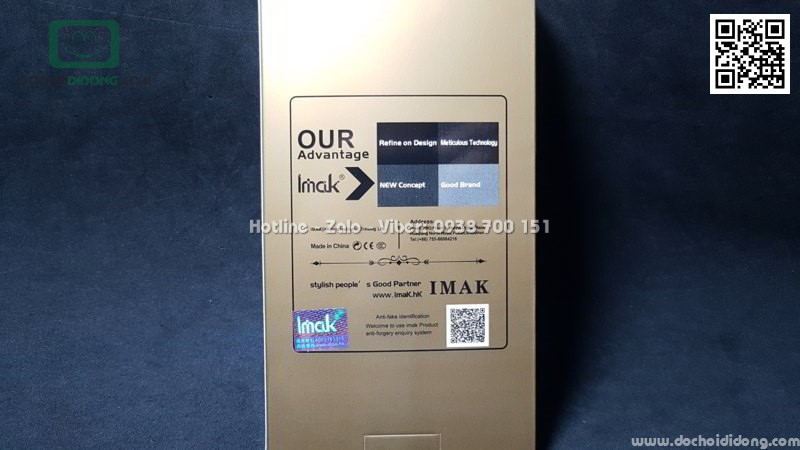 Ốp lưng Blackberry Key 2 iMak cứng trong siêu mỏng