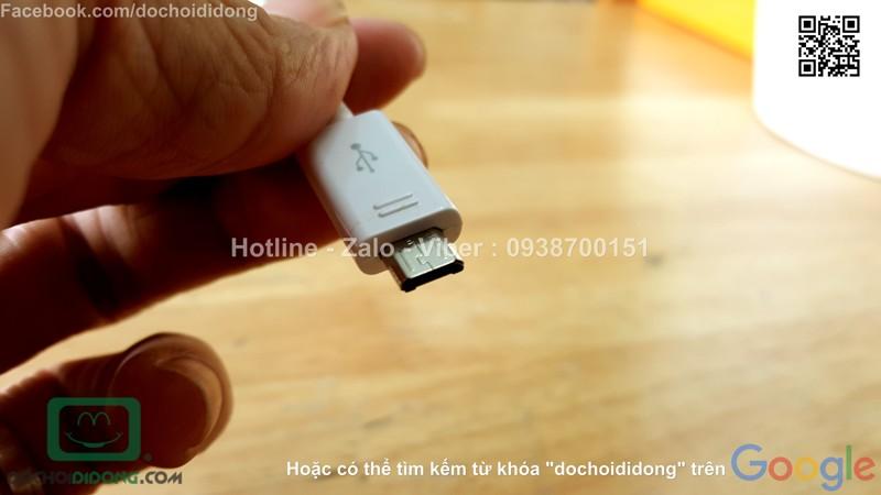 Cáp sạc microUSB Samsung 1m chính hãng
