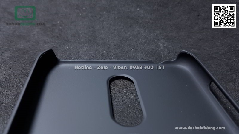 Ốp lưng Nokia 6.1 Plus Nillkin vân sần
