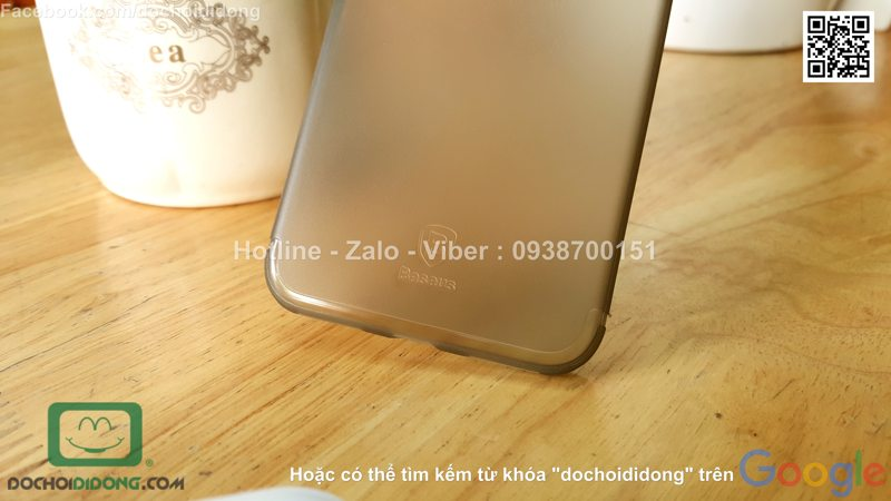Ốp lưng iPhone 8 Baseus Slim Case