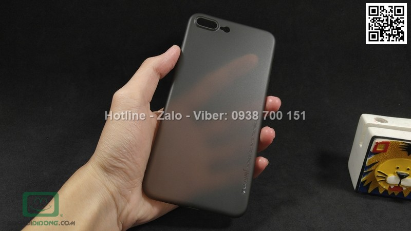 Ốp lưng iPhone 8 Plus Memumi siêu mỏng 0.3mm