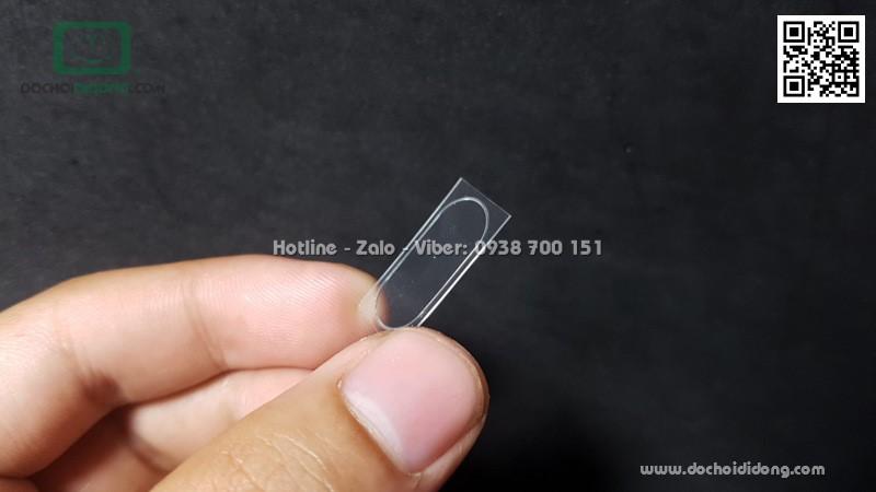 Miếng dán cường lực camera sau LG G7 ThinQ 9H