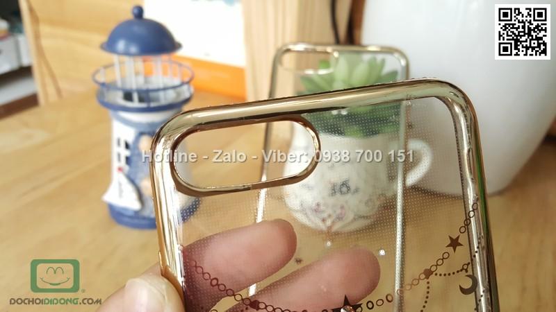 Ốp lưng iPhone 7 Plus đính đá lấp lánh