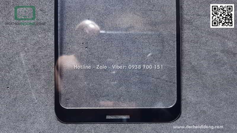 Miếng dán cường lực full màn hình Nokia X5 Zacase full keo