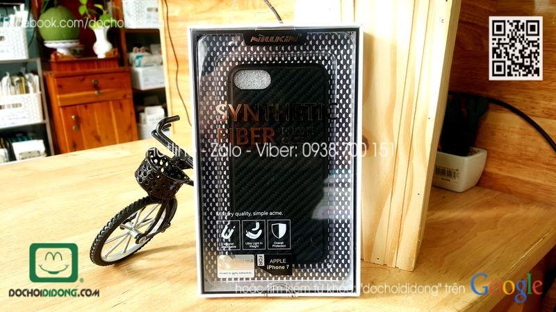 Ốp lưng iPhone 8 Nillkin carbon