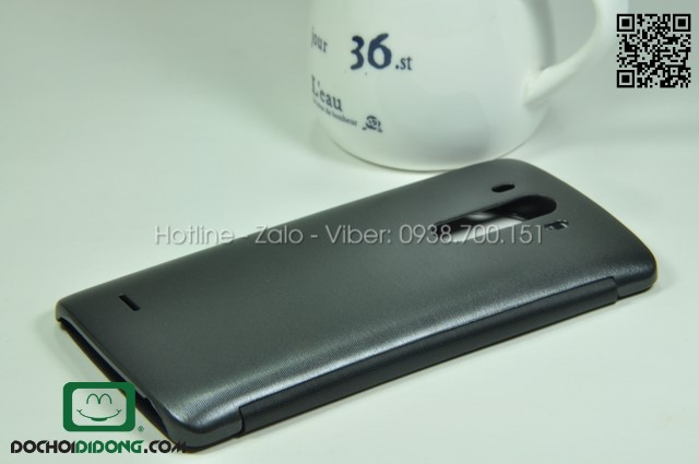 Flip cover LG G3 chip sạc không dây bản quốc tế