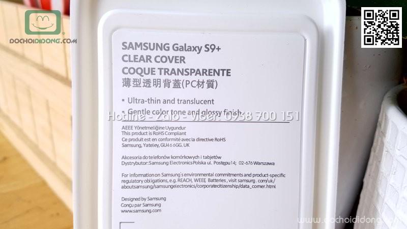 Ốp lưng Samsung S9 Plus Clear Cover