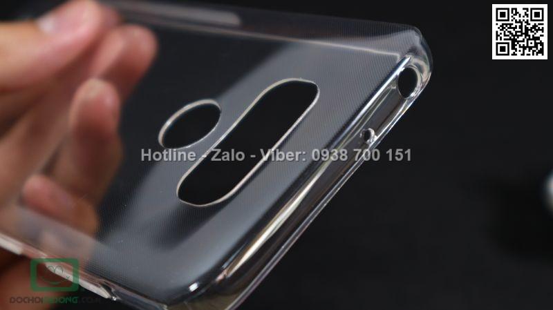 Ốp lưng LG G6 Nillkin dẻo trong siêu mỏng