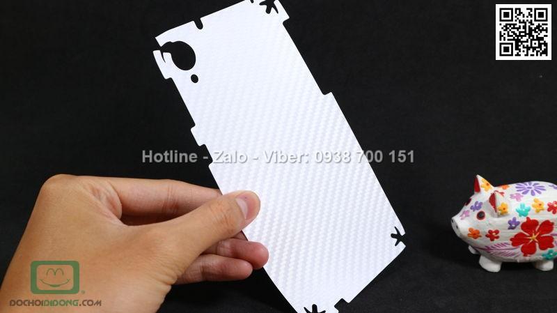 Miếng dán mặt sau HTC Desire 820 Carbon