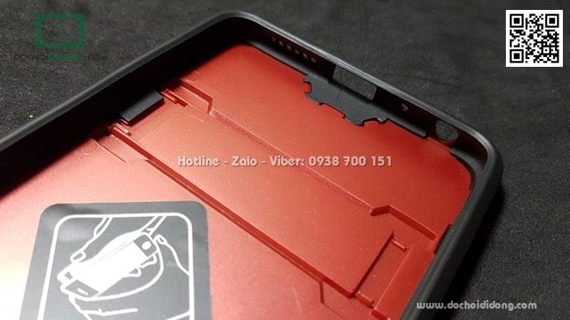 Ốp lưng Xiaomi Redmi Note 5 Pro iRon Man chống sốc có chống lưng
