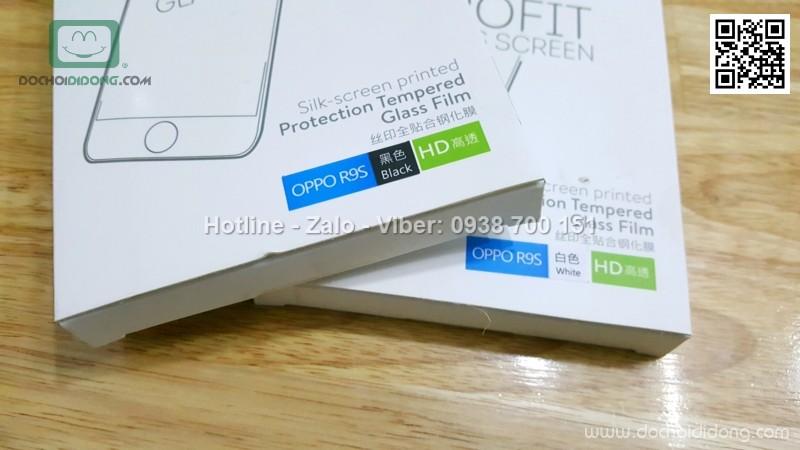 Miếng dán cường lực Oppo F3 Baseus 3D full màn hình